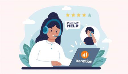 كيفية الاتصال بدعم IQ Option